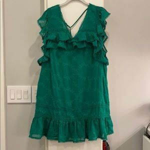 Tularosa green dress